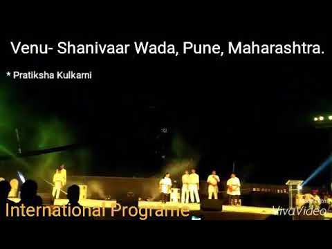 Veer shivaji martial art team International show at Shanivaar Wada, pune