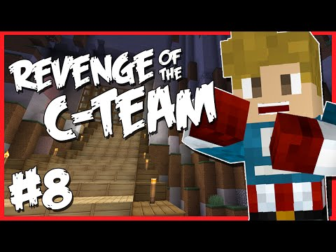 Minecraft - REVENGE OF THE C-TEAM [8] - MAGICAL FLYING BROOMS!? (Revive Server)