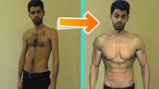 كيف تحول جسمي بشهر واحد فقط !