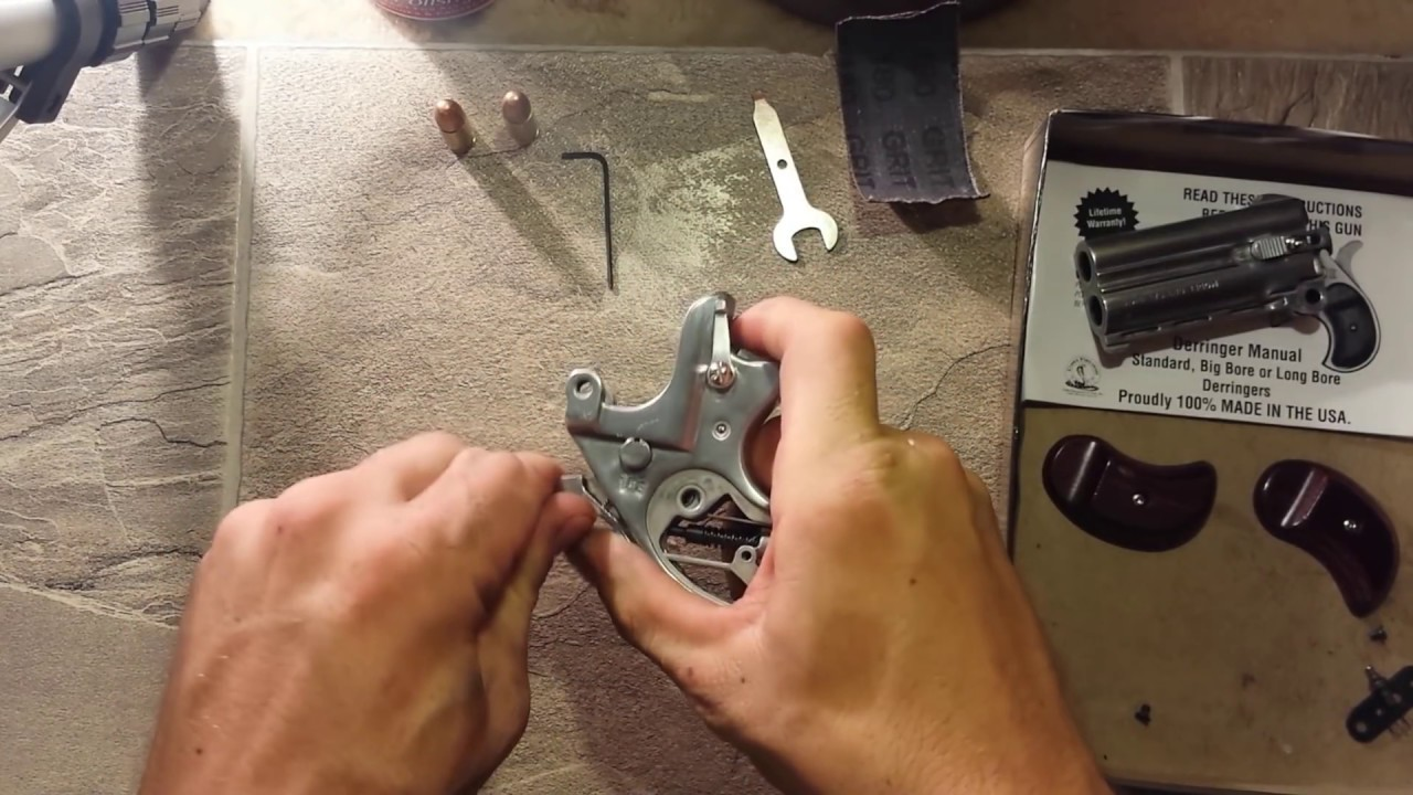 Co Derringer misfire repair?? (9mm) - YouTube
