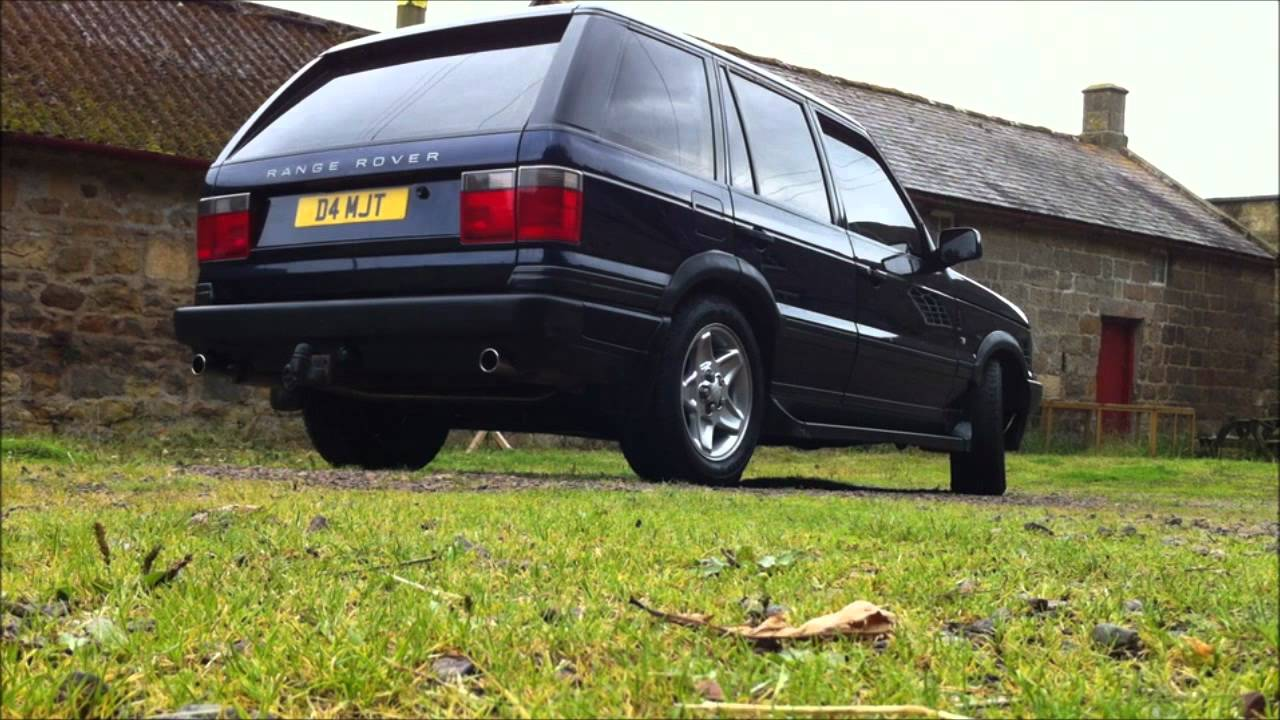 Range Rover P38 4 6 V8 Hse Exhaust Youtube