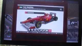 F1 2011 Xbox 360 gameplay