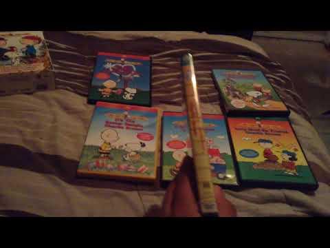 9 Peanuts Dvds that has the Peanuts Classics Logo