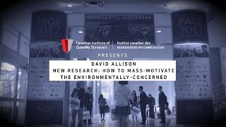 How to Mass-Motivate the Environmentally-Concerned? New Research on Valuegraphics by David Allison