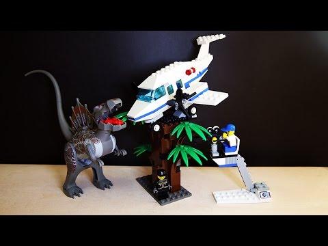 Lego 1371 studios jurassic park iii spinosaurus attack review youtube - Lego dinosaurs spinosaurus ...