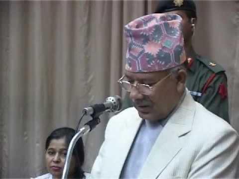 Speech of Honorable Prime Minister of Nepal Mr  Madhav Kumar Nepal's Speech on the 17th Praksh Memorial day Part 1 of 3