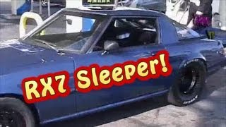 "NRE 1650 HP RX7, ""The Sleeper Part 0.9"", Funny and awesome Video of in car occupants.twin turbo"
