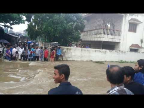 Flood at DHANBAD