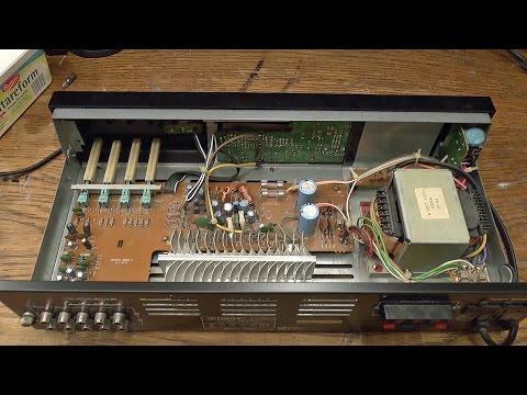 Fisher CA-223R amplifier overhaul