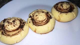 Песочное Печенье «Шампиньоны»    Рецепт вкусного печенья
