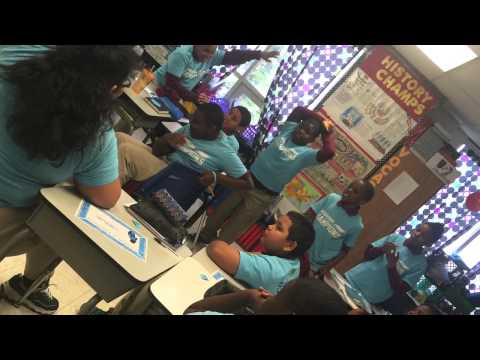 Lex Gillette visits Northwood Academy Charter School April 30,2015
