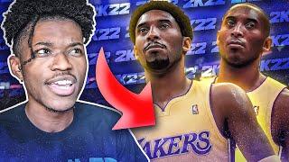 i tried to draft the next Kobe Bryant in NBA 2K22