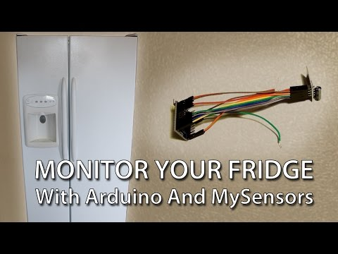 Refrigerator Monitoring with Arduino and MySensors