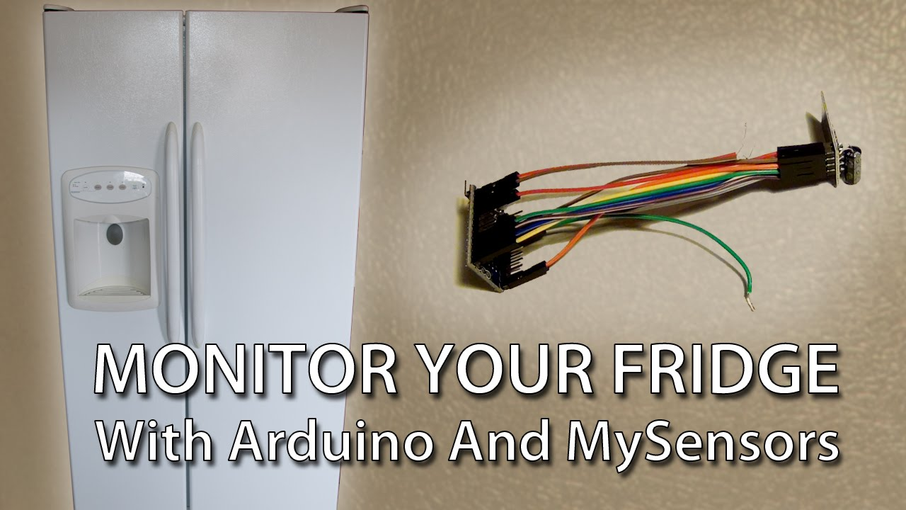 Westpoint Refrigerator Wiring Diagram : Refrigerator monitoring with arduino and mysensors youtube