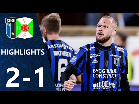 Sirius Varbergs BoIS Goals And Highlights
