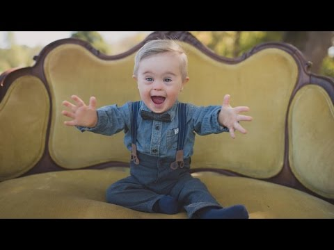 Adorable Toddler with Down Syndrome Lands a Spot in Upcoming OshKosh B'gosh Ads