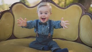 Toddler with Down Syndrome Overlooked for Modeling Gig Gets OshKosh B'gosh Ad
