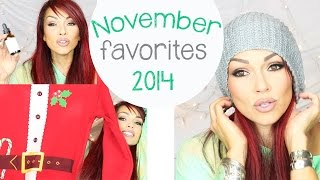 November Favorites 2014 Thumbnail