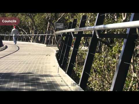 NSW Cycleways; Parramatta's Ermington shared cycle path