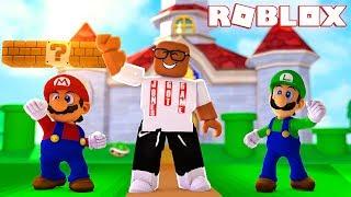 SUPER MARIO WORLD DANCE PARTY IN ROBLOX (Roblox Super Mario Showcase)