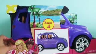 UNBOXING:BARBIE SUV CAR