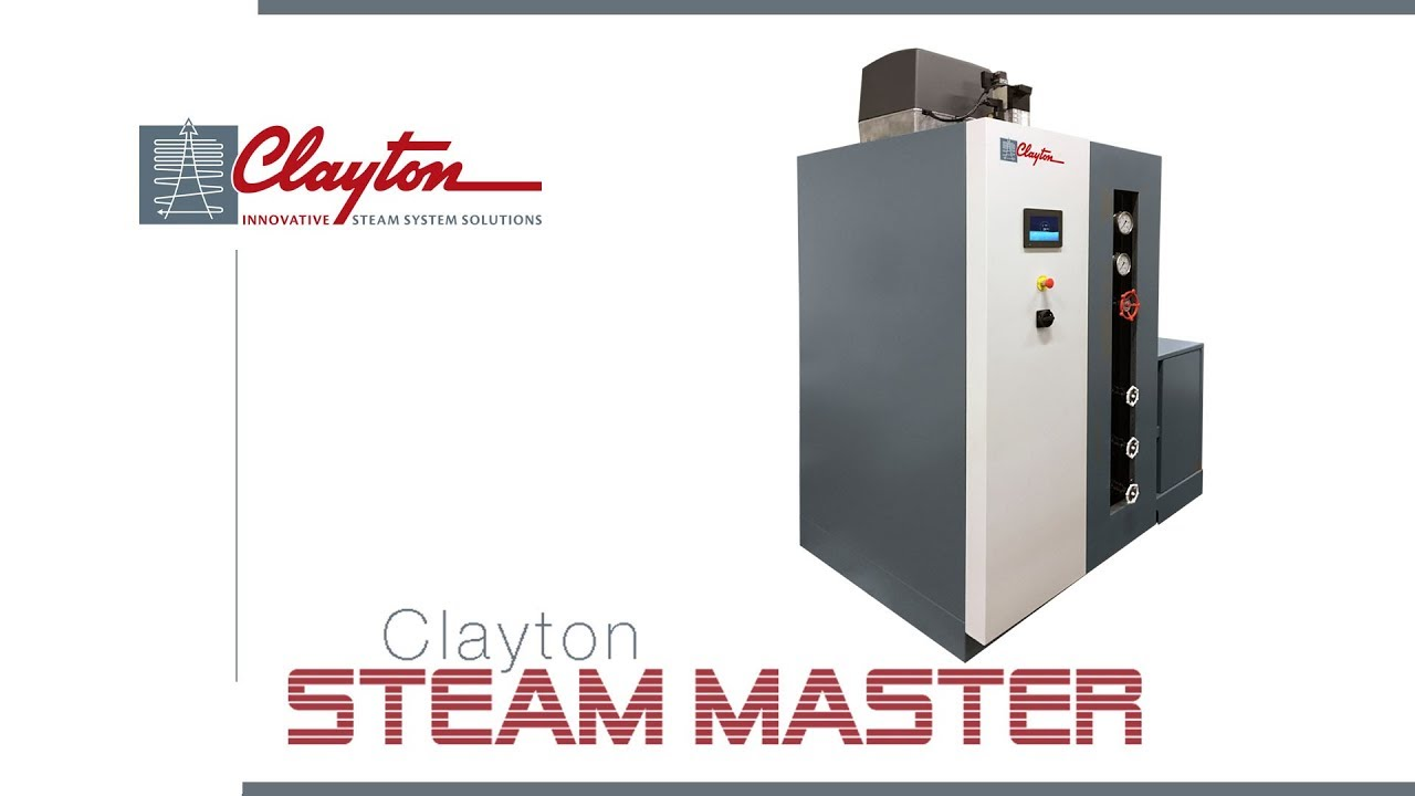 The Clayton Steam Master