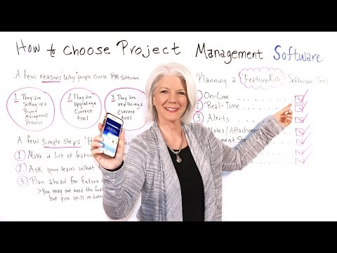How to Choose Project Management Software - Project Management Training