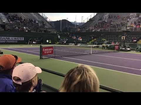 Prajnesh Gunneswaran vs Benoit Paire : ATP Indian Wells Masters