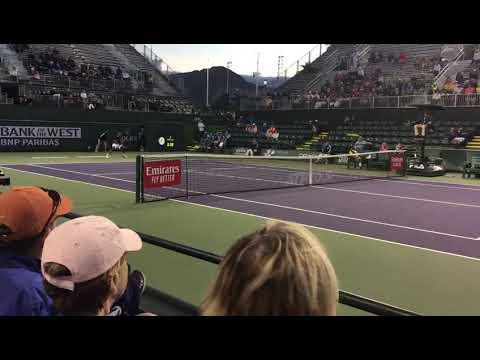 Prajnesh Gunneswaran vs Benoit Paire : ATP Indian Wells Masters