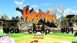 Happy Wars - Multiplayer Mod. co-op #01 - Il Gameplay più pazzo del mondo - [HD] - [ITA]