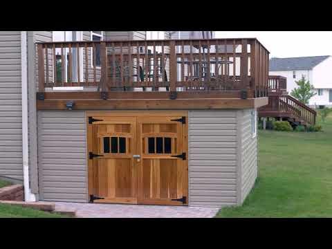 Building A Wood Deck Over Concrete Slab