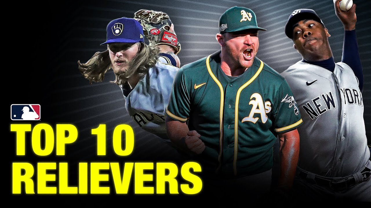 Top 10 Relief Pitchers in MLB | 2021 Top Players