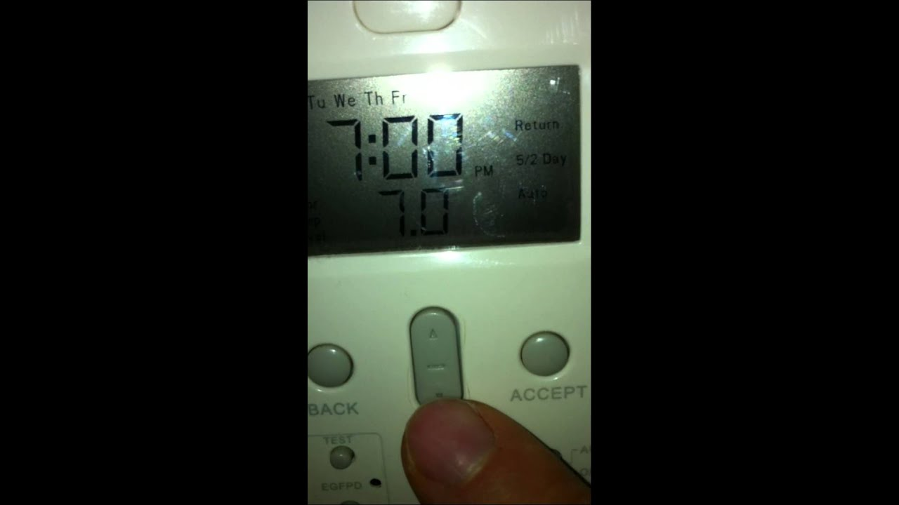 Easy Heat Floor Thermostat Youtube