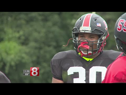 UConn-bound Wilbur Cross lineman Travis Jones is as unique as they come