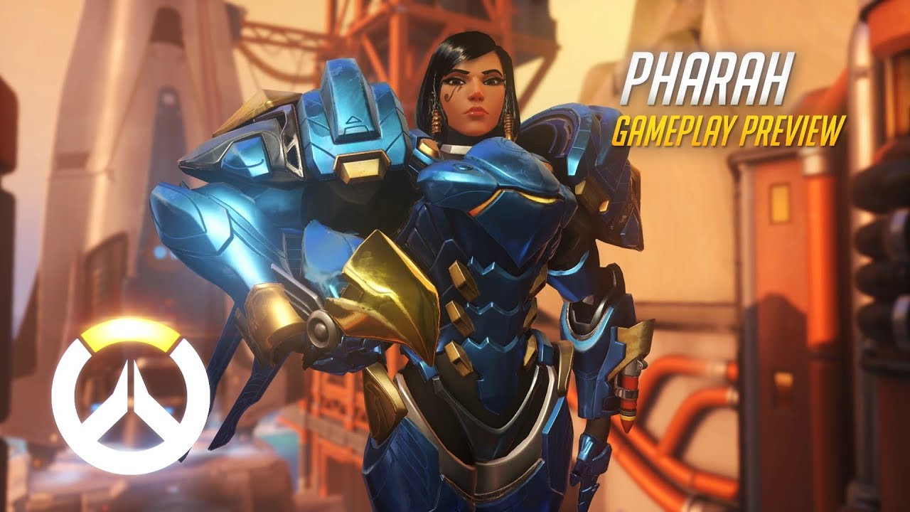 Overwatch Pharah Gameplay Preview Eu Youtube