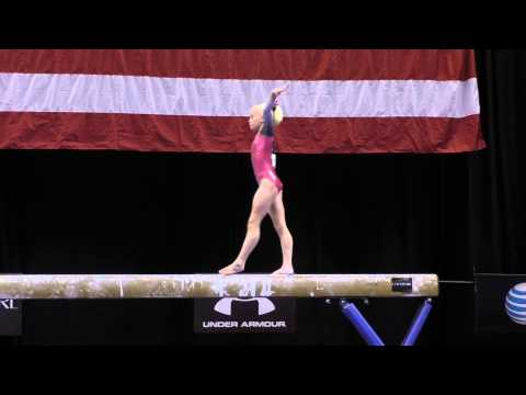 Abigail Walker – Balance Beam – 2015 P&G Championships – Jr. Women Day 1