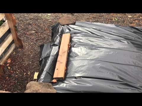 How To Prepare Raised Garden Beds For The Winter Youtube