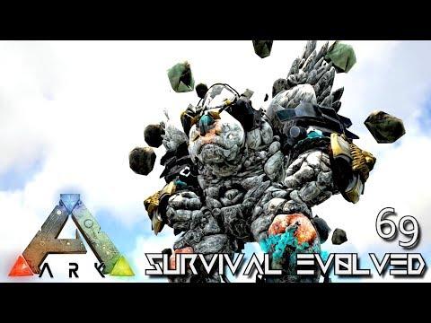 ARK: SURVIVAL EVOLVED - NEW TEK ROCK GOLEM ELEMENTAL FOREWORLD MYTH !!! E69 (MOD EXTINCTION CORE)