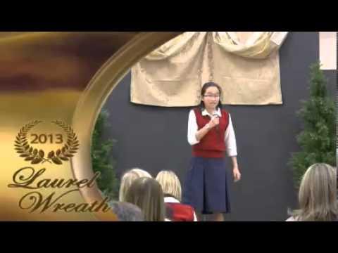 Mars Hill Academy 2013 Laurel Wreath Awards