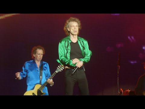 """Jumpin Jack Flash & Brown Sugar"" Rolling Stones@MetLife Stadium New York 8/1/19"