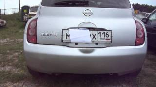 2002 Nissan March.Start Up, Engine, and In Depth Tour.