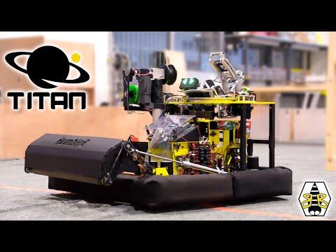 BumbleB 3339 FRC Robot Reveal 2020 - TITAN