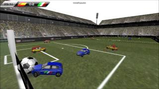 SOCCER WITH REAL CARS!