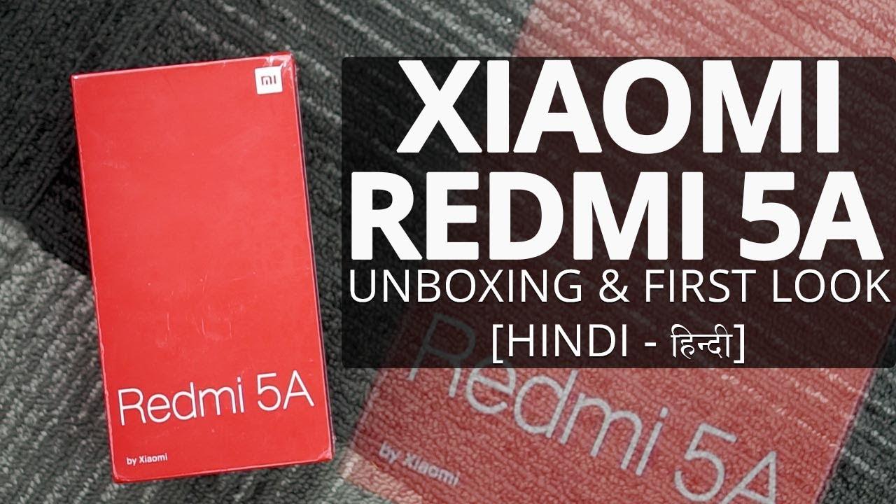 2a385dbfdd0 Xiaomi Redmi 5A  Unboxing