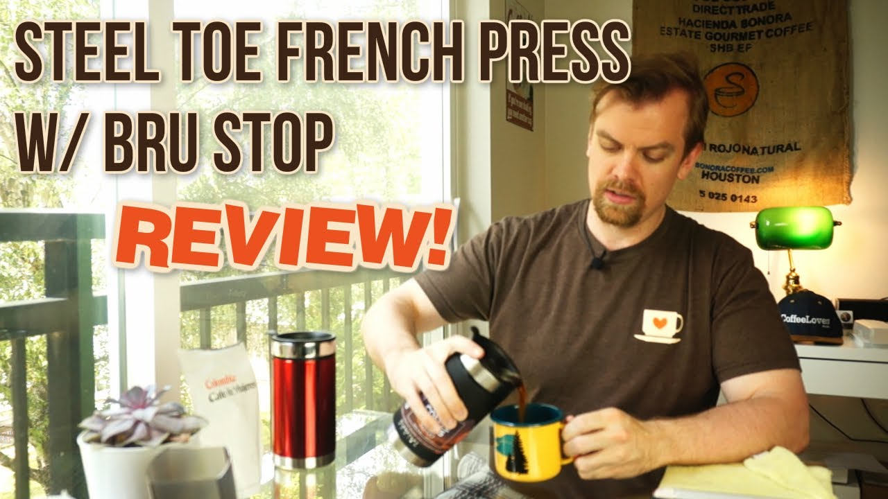 Steel Toe French Press W Bru Stop By Planetary Design Youtube