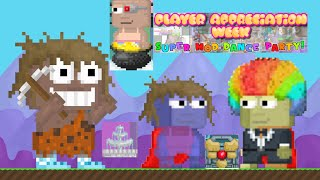 Growtopia- Player Appreciation Week ft. Seth, Hamumu and 5 other mods!