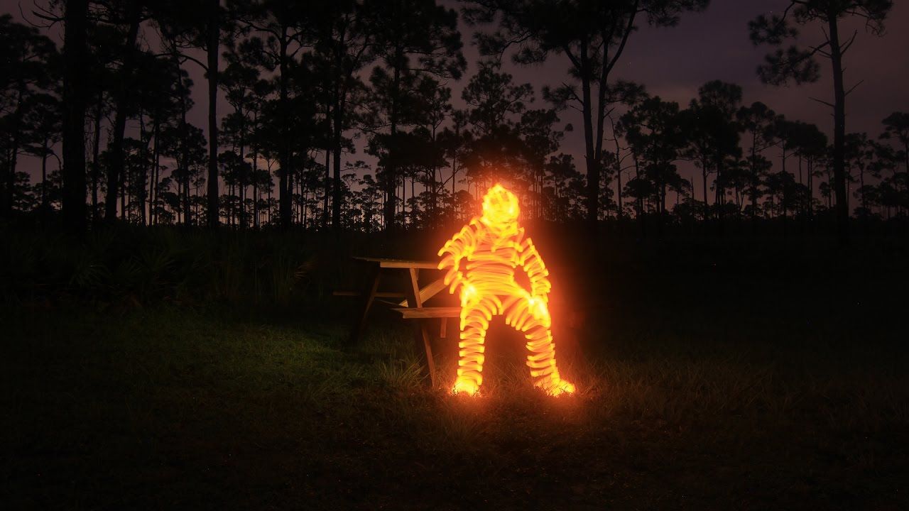 Light Painting Tutorial How To Paint A Man