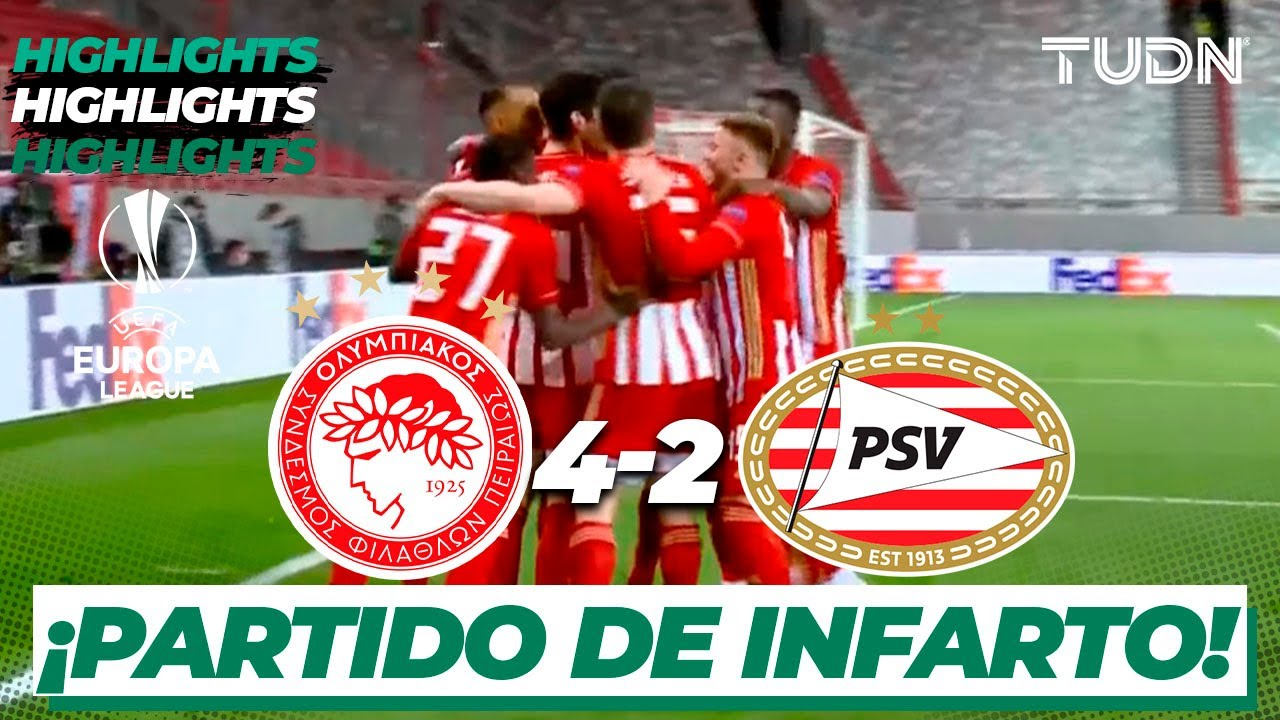 Highlights | Olympiacos 4-2 PSV | Europa League 2021 ...