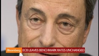 ECB Holds Rates Steady as All Eyes Turn to Draghi