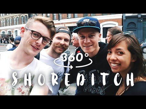 360 LONDON: SHOREDITCH IN A DAY